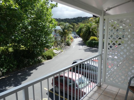 Scenic Hotel Bay of Islands: View from balcony