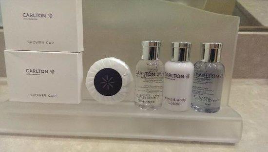 Carlton Hotel Singapore: アメニティ