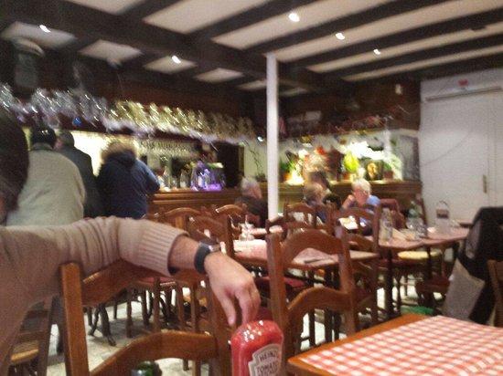 Le Paradis Chez George : Restaurante