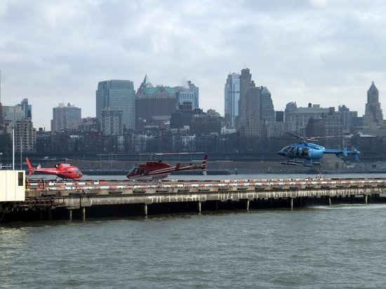 Helicopter Flight Services - Helicopter Tours: Helipad