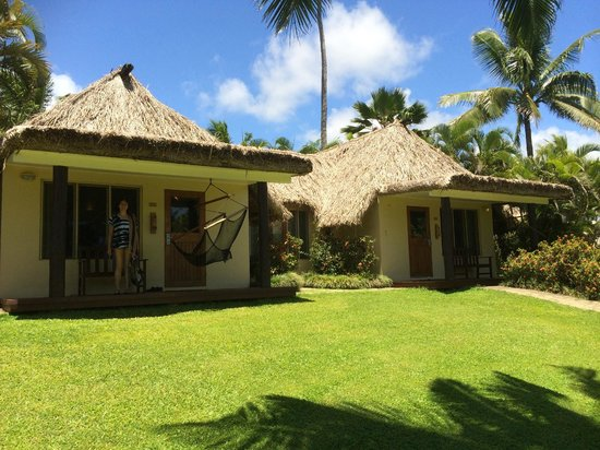 Outrigger Fiji Beach Resort: our interconnecting bures