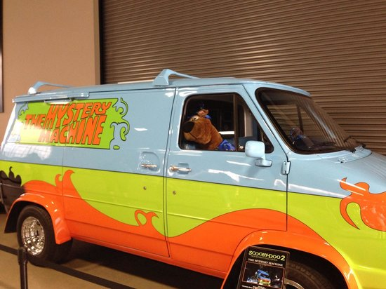 Warner Bros. Studio Tour Hollywood : Scoobie van