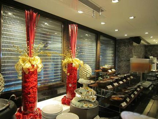 Imperial Hotel Taipei : 朝食バイキング