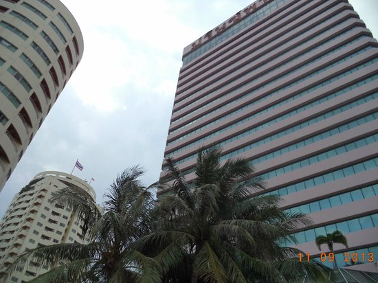 Prince Palace Hotel: taken from poolside up