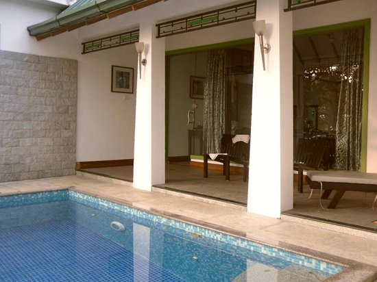Aanavilasam Luxury Plantation House: Our private pool