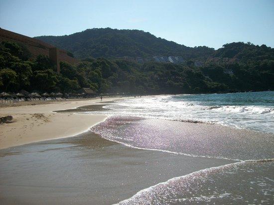 Las Brisas Ixtapa: Hotel beach.