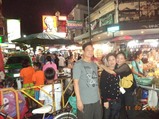 Khao San Road : Finally we are here