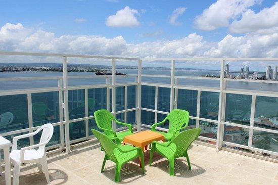 Cartagena Premium Hotel: Vista desde el mirador