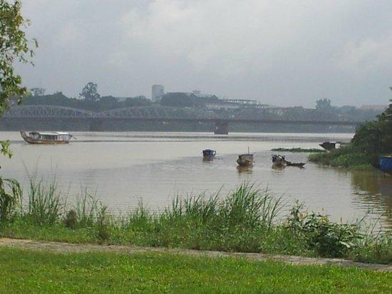 Truong Tien Bridge over the Huong River (Perfume River).