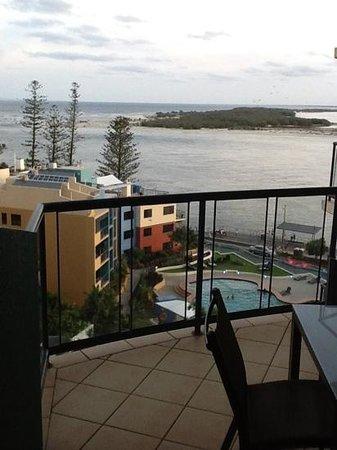 Breakfree Grand Pacific Resort Sunshine Coast: balcony view