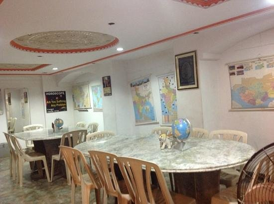 Gangaram Hotel and Guest House: Dining Place