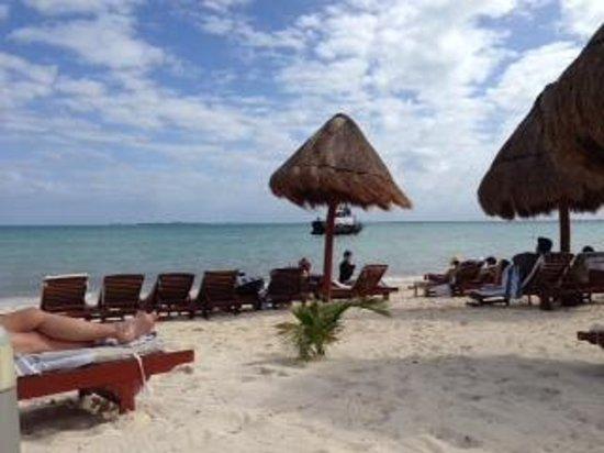 Beloved Playa Mujeres: Beach view