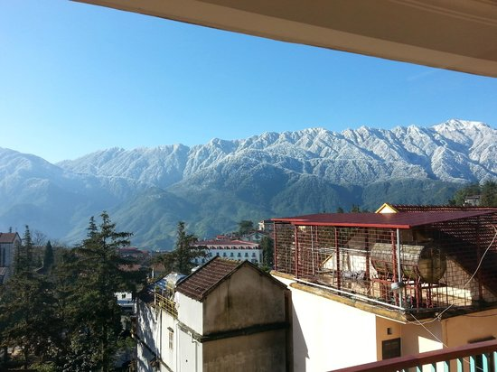 Sapa Panorama Hotel: View from the restaurant