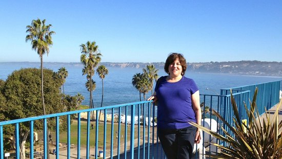 La Jolla Cove Hotel & Suites: View from the restaurant terrace