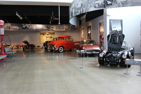 Discovery Park of America: Lots of pretty cars