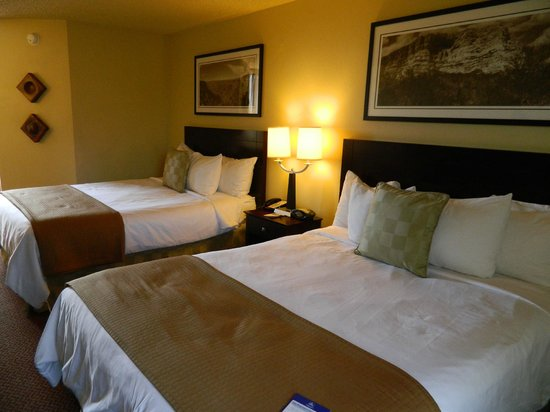 BEST WESTERN PLUS Inn of Sedona : Comfy Beds!