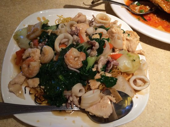 Newport Seafood Restaurant: House special noodles