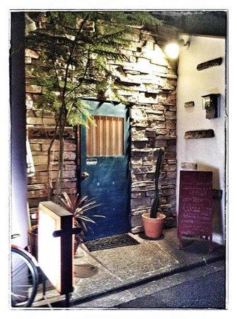 Lajolla: The entryway