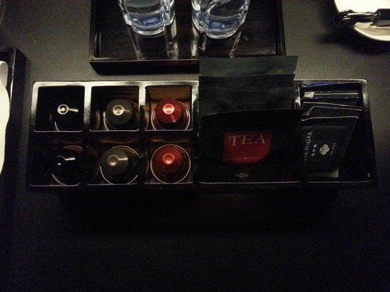 The PuLi Hotel and Spa : Nespresso!