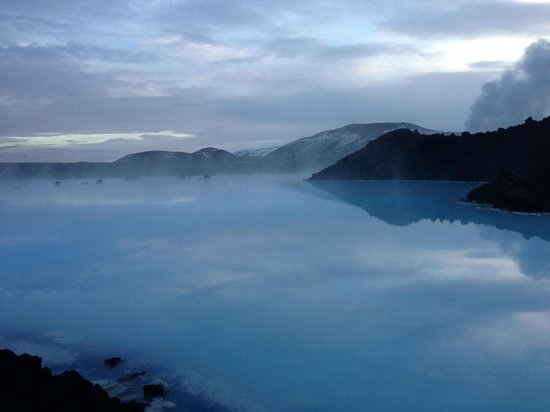 beautiful Blue Lagoon