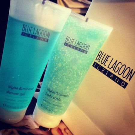 Blue Lagoon : combo gift set bought from airport.. buy it here and not at the store