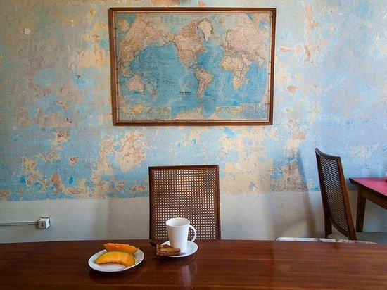 Splendido Hotel: comedor y desayunador con vista al Solís