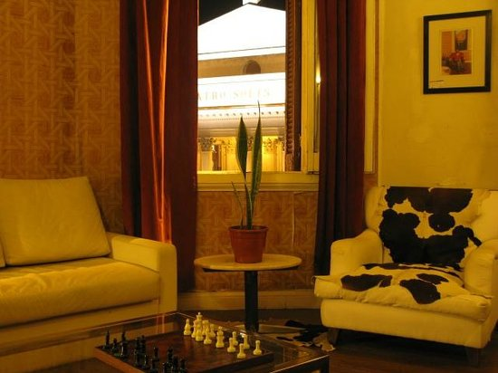 Splendido Hotel: living