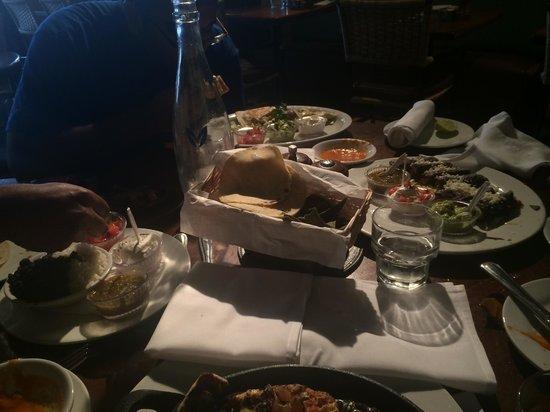 Jaguar Ceviche Spoon Bar and Latin Grill: fajitas