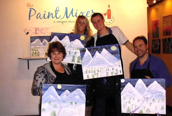 The Paint Mixer: painting