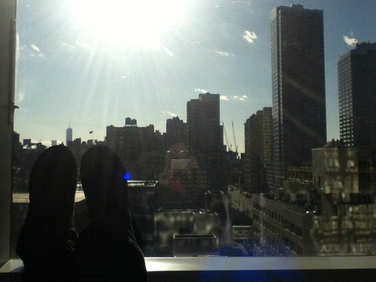 YOTEL New York at Times Square West: Great wiew from eleventh floor