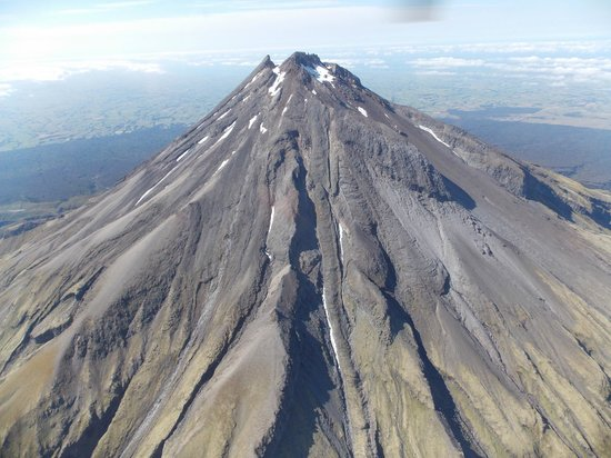 Heliview Flights: Nearing the top of the summit