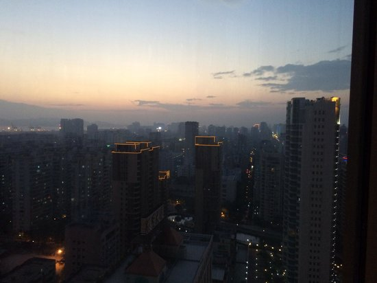 Regency Hotel Shantou : View from 27th floor