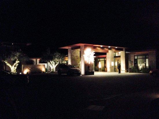 Bardessono at night