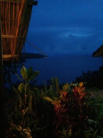 Mayoka Village: View from our chalet.