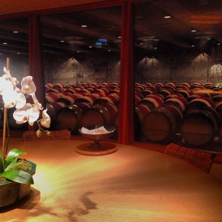Opus One Winery: The tasting room