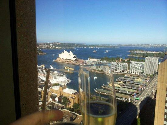 Shangri-La Hotel Sydney : Cin cin