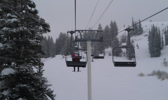 Snowpine Lodge : Sunnyside lift