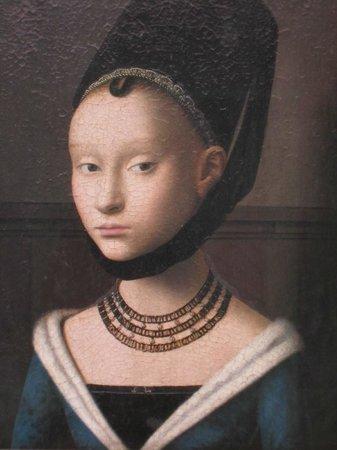 Gemäldegalerie: 本物の迫力が筆使いまでわかる間近で見られます