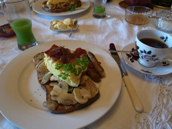 Braemar on Parliament Street B&B Auckland: breakfast-2