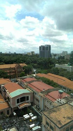 InterContinental Saigon Hotel : View from room