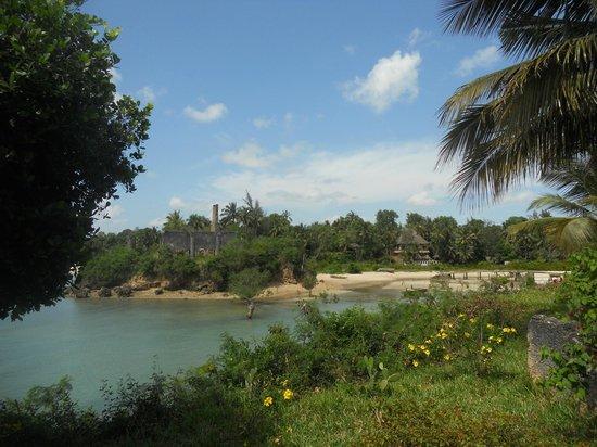 Chuini Zanzibar Beach Lodge : Badebucht