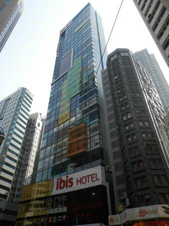 Ibis Hong Kong Central & Sheung Wan Hotel: Общий вид отеля