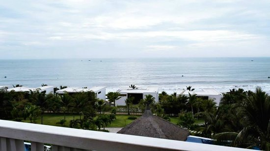 The Cliff Resort & Residences: View from hill top