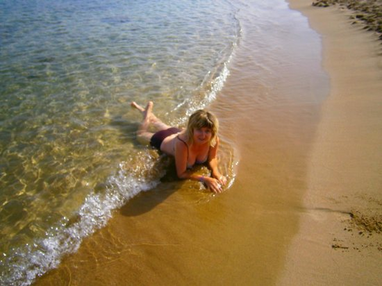 Phaedra Beach Hotel: пляж возле отеля
