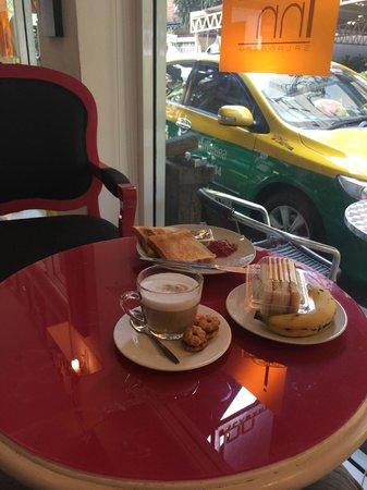 The Inn Saladaeng : petit petit déjeuner