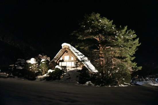 Shirakawago Shiroyama Observatory Deck: 和田家