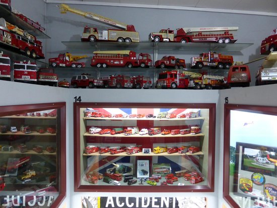 Northland Firehouse Museum : This is just one small part of the model display