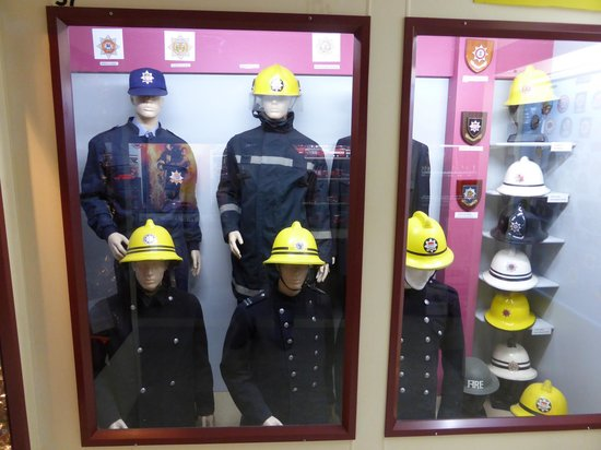 Northland Firehouse Museum : NZ Fire Uniforms