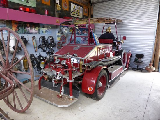 Okaihau, Nouvelle-Zélande : The oldest fire-truck appliance