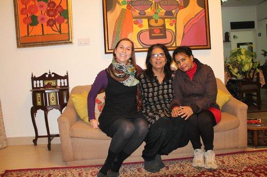 Maya's Nest: me, Asha, Maya